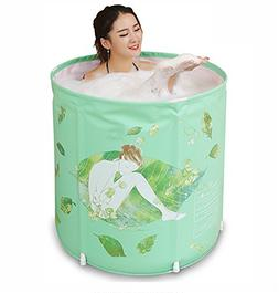 POTA Portable Bathtubs Thick Folding Tub Inflatable Bathtub