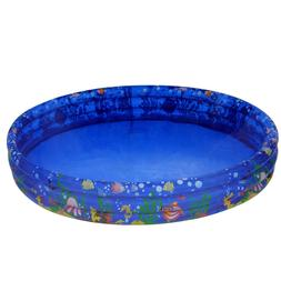 Portable Inflatable Swimming Pool 48 Inch Round Kids Above G
