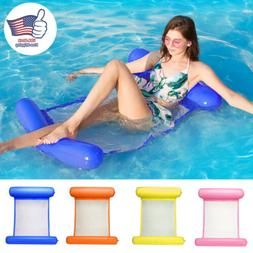 Portable Swimming Pool Toy Hammock Lounge Inflatable Water F