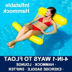 portable swimming pool toy hammock lounge inflatable