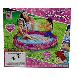Disney Princess 37.5 Inch Round 2-Ring Inflatable Kiddie Poo