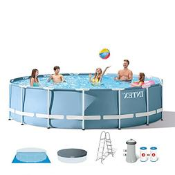"Intex Prism Frame 15' X 42"" Above Ground Pool w/ Filter Pump"