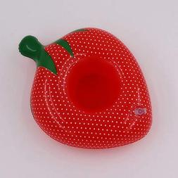 PVC Inflatable Fruit Water Cup Holder Inflatable Water Float