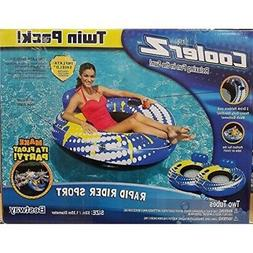 "CoolerZ Rapid Rider Sport, Twin Pack, 53"" Party float."