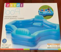Intex Relax 2-Seat Cool Swim Center Family Lounge Inflatable
