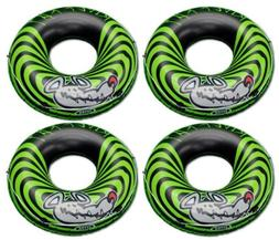4-Pack Intex River Rat 48-Inch Inflatable Tubes For Lake/Poo