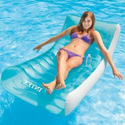 """Intex Rockin' large inflatable pool float relaxer lounge 74"""""""