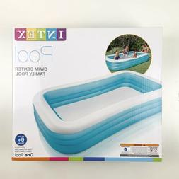 SHIPS NOW Intex Swim Center Above Ground Family Inflatable P