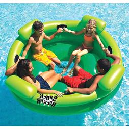 Shock Rocker 4 person Inflatable blow up Pool toy with Four