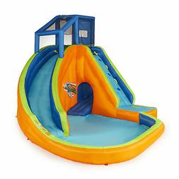 Banzai Sidewinder Falls Inflatable Water Park Play Pool with