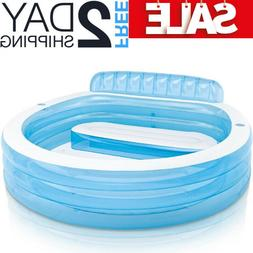 Small inflatable Swimming pool For Kids Childs Toddlers Fami