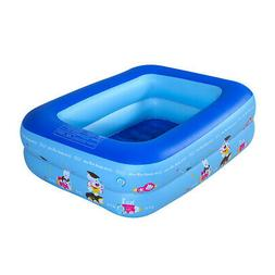 Small Inflatable Swimming Pool Kids Baby Water Play Fun For