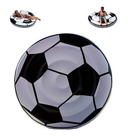 TheGag Soccer Ball Pool Float-Giant Inflatable Swimming Pool
