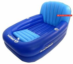Solstice by Swimline Cooler Couch Inflatable Pool Lounger