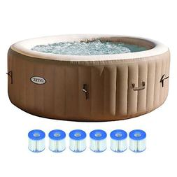 spa 4 person inflatable portable