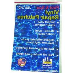 JED Pool Tools 35-240 Pool and Spa Repair Patches, Self-Adhe