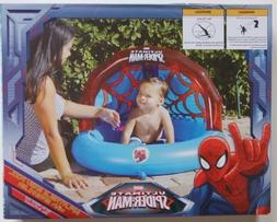 Spiderman Inflatable Baby Pool with Sprinkler, New