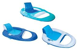 SwimWays Spring Float Recliner Floating Pool Lounge Chair  |