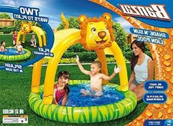 Spring & Summer Toys Banzai Shade 'N Sun Lion Pool with Remo
