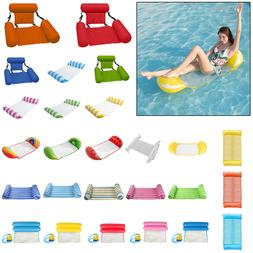Summer Hammock Lounge Inflatable Water Floating Bed Mat Chai