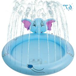 Summer Home Kids Baby Swimming Pool Inflatable Bathing 3 Lay