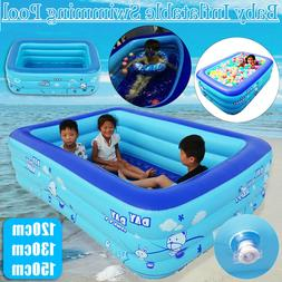 Summer Inflatable Kids Swimming Pool Swim Center Water Fun P