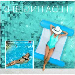 Summer Swimming Pool Floating Water Hammock Lounge Chair Inf