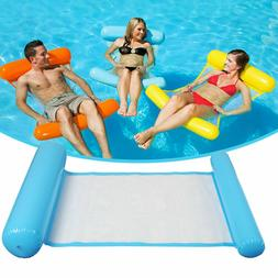 Summer Swimming Pool Toy Hammock Lounge Inflatable Water Flo