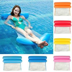 Summer Water Sports Hammock Foldable Inflatable Air Mattress