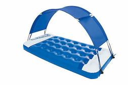 Bestway Sun Shade Lounge Inflatable Pool Float with Removabl