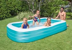 "Intex Swim Center Family Inflatable Pool - 120"" X 72"" X 22"""