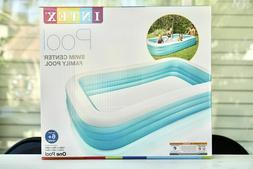 "NEW Intex Swim Center Family Inflatable Pool 120"" X 72"" X 22"
