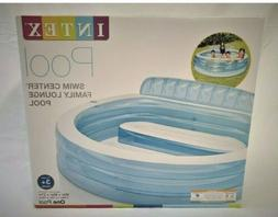 🔥 Intex Swim Center Inflatable Family Lounge Pool NIB FAS