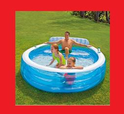 "Intex Swim Center Inflatable Family Lounge Pool Water 90"" x"