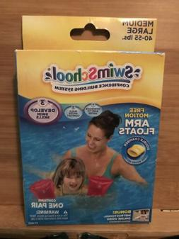 swim school level 3 inflatable pink arm