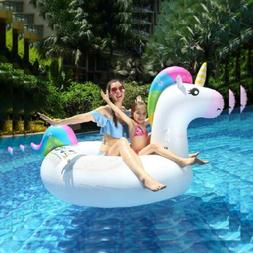 Innoo Tech Swimming Float Inflatable Unicorn - Pool Lounger