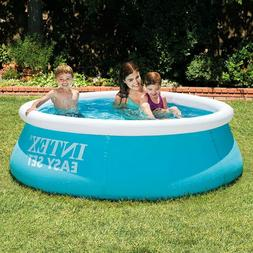 Intex Swimming Inflatable Above Ground Family Pool Ground Cl