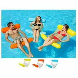 Swimming Inflatable Floating Float Water Hammock Pool Lounge