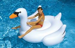 Swimline Swimming Inflatable Toy Pool Swan Rideable Float 75
