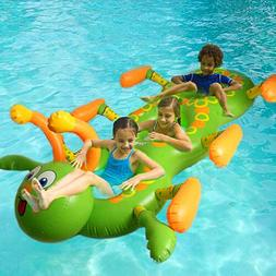 Swimming Pool BIG Inflatable Caterpillar Water Float Funny F