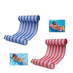 LEZHI 2-pack Premium Swimming Pool Float Hammock, Comfortabl