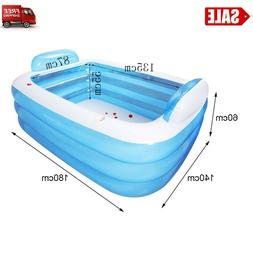 Top selling 3-Ring Inflatable Pool For Family Children Babie
