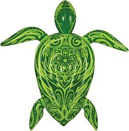 Large Turtle 9 Ft Inflatable Raft Swimming Pool Water Float