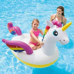 UNICORN INFLATABLE RIDE ON POOL FLOAT 79 x 55 x 38 Intex Hea
