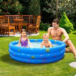 US Summer Inflatable Kids Swimming Pool Swim Center Water Fu