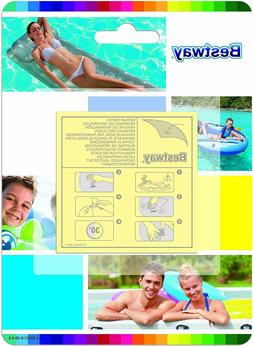 BESTWAY VINYL REPAIR PATCH KIT ABOVE GROUND SWIMMING POOL IN