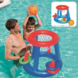 Water Basketball Hoop Pool Float Inflatable Swimming Pool To