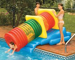 Water Sports Deluxe Water Park Slide Swimming Pool Inflatabl
