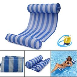 OUTERDO Water Hammock Pool Lounger Float Hammock Inflatable