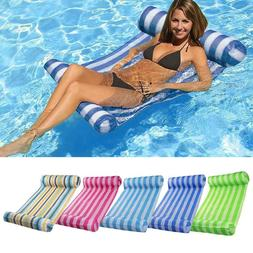 Water Hammock Sports Inflatable Float Bed Summer Swimming Po